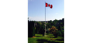 Flagpole 30' - Made in Canada.....NEW in box