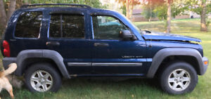2002 and 2003 Jeep liberty only$1400