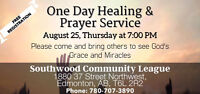 One Day Healing and Prayer Meeting
