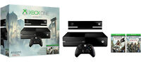 XBOX ONE  W/ KINECT - LIKE NEW - ASSASSIN'S CREED PACAKGE