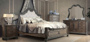 SOLID WOOD QUEEN SIZE BEDROOM SET FOR CLEARANCE!!!!