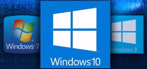 Windows 7 / 8 / 10 Operating System Reset and Reinstallation $35