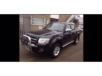 Ford ranger thunder d/c/4wd 2007 2.5 diesel manual
