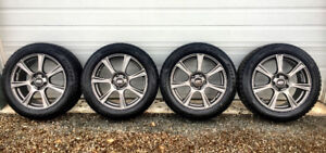 4 Winter Tires with Alloy Rims