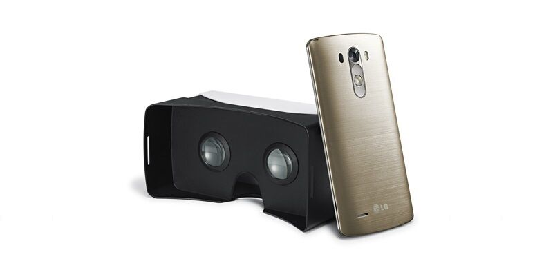 Bald Teil des Lieferumfangs: die VR-Brille von LG