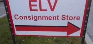 "come see my ""ELV STORE"" (Eric la Vendu) consignment shop"