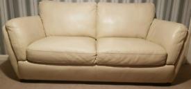 Sofa Italian Natuzzi Genuine Leather