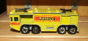 Hot Wheels Airport Rescue Truck - $5.00