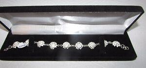 Sterling Silver Bracelets in Velvet Gift Box - NEW Gatineau Ottawa / Gatineau Area image 8