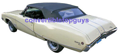 BUICK SKYLARK, SPECIAL GRAN SPORT CONVERTIBLE TOP-DO IT YOURSELF PKG 1968-1972 Buick Skylark Convertible Top