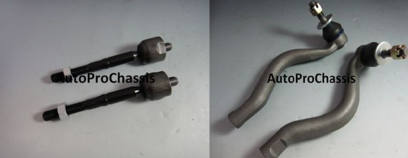 2 INNER 2 OUTER TIE ROD END LEXUS IS250 06-11 AWD
