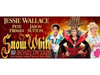 2 Tickets Pantomime - Snow White and the Seven Dwarfs - 16 Dec - Bromley Churchill Theatre