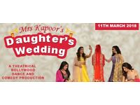 Mrs Kapoor's Daughter's Wedding tickets x4 - Beck Theatre