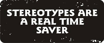3 - Stereotypes Real Time Saver Hard Hat Biker Helmet Sticker Bs518 3