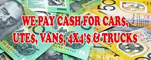 FAST CASH FOR YOUR OLD UNWANTED CAR TODAY Mona Vale Pittwater Area Preview