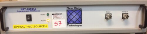 New Ridge Technologies Nrt-10033a Programmable Pmd Source