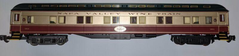 Aristocraft 31832 Standard Heavyweight Pullman Wine Train -- Napa Valley