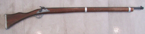 Vintage Parris Made In USA Distressed Wood Toy Shooting Shell Cap Gun Rifle