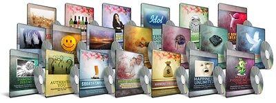 Audio Adrenaline Hypnotherapy 20 MP3 Audios - 1 CD