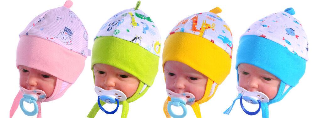 ERSTLINGSMÜTZE 32-45 Mütze Babymütze Haube Mützchen Frühchen Neugeborene Reborn