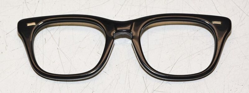 Rochester Optical S-10 Black Military Glasses Frames NEW!!! 50-20 Eyeglass