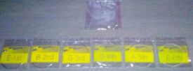 SPARE ELECTRIC GUITAR STRINGS
