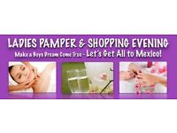 Ladies Pamper & Shopping Evening (Community Fundraiser)