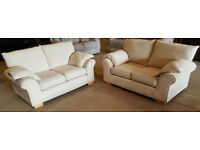 2 + 2 seater sofas. Good clean condition.