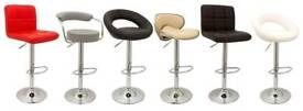 BAR STOOLS MESSAGE FOR STYLES AND COLOURS CAN DELIVER FOR A FEE