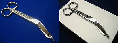 High Polish Stainless Steel Autoclavable Pacifated Lister Bandage Scissors 5.5