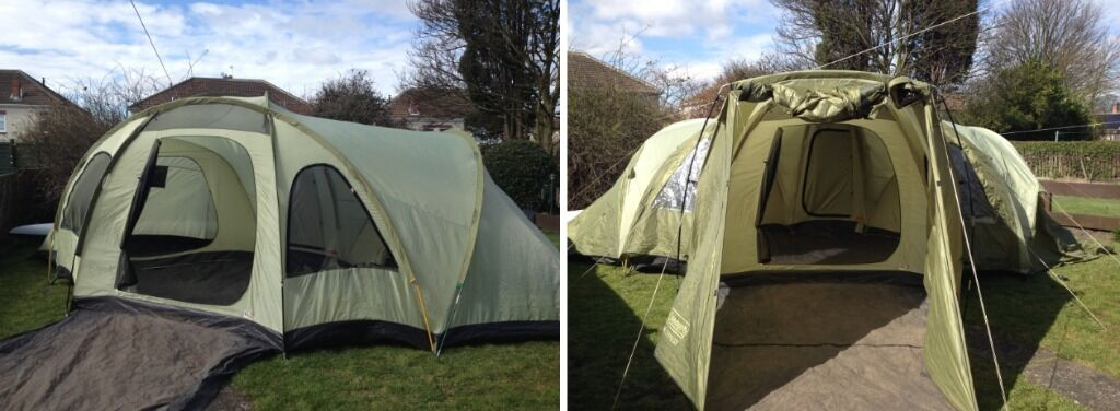 Coleman big cypress 8 man tent & Coleman big cypress 8 man tent | in Ashington Northumberland ...