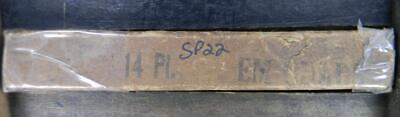 Alphabets Letterpress Type  Nos  Atf 14pt Em Quads  Sp22  1