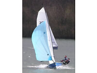 Rs 400 Sailing Dinghy great fun boat that comes with trolley, road trailer, top cover, all sails