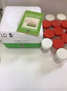yaourtière semi-automatique (10$)