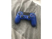 Barely used - PS4 controller, Blue