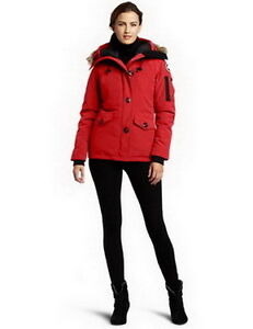 Canada Goose Women Montebello Parka Red