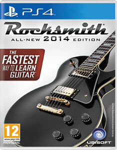 Rocksmith 2014 PS4 with Patchcord