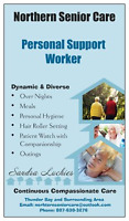 Certified Personal Support Worker for Private Home Care