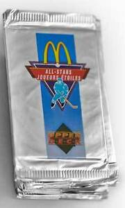 1991-92 Upper Deck McDonald's Canada Hockey Packs & Singles
