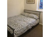 Double Bed with Bed Frame