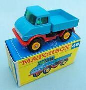 Matchbox Unimog