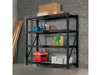 "Whalen 4 Tier 77"" (195cm) Industrial Storage Rack"
