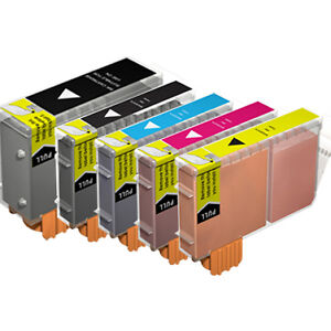 10 Pack Combo Ink Set for PGI-5 CLI-8 Canon iP4200 iP4300 iP4500 MP500 MP530