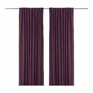IKEA WERNA Block-out curtains - NEW/SEALED
