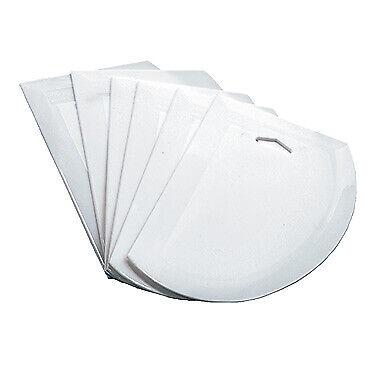 Winco 7-12 X 4-34 Dough Cutterscraper White - Pds-7