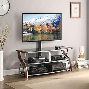 *no tax* Whalen 3-in-1 TV Stand for TVs Up To 65 (BBCXL54-NV) - Nova