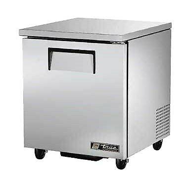 True Tuc-27-hc Commercial Undercounter Solid Door Refrigerator