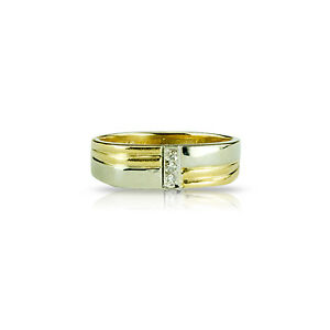 Men's 10k Yellow & White Gold Band - Appraised at $1100