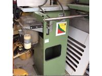 Electra Beckum Tf100 spindle moulder with cutters