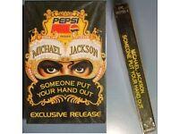 MICHAEL JACKSON VERY RARE PEPSI PROMO CASSETTE